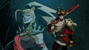A still from the video game, Hades, featuring the main character Zagreus and one of the game's enemies, Alecto. The game was a big winner at the BAFTA video games awards, and, featuring a bisexual main character, a great sign for diversity in the games industry.
